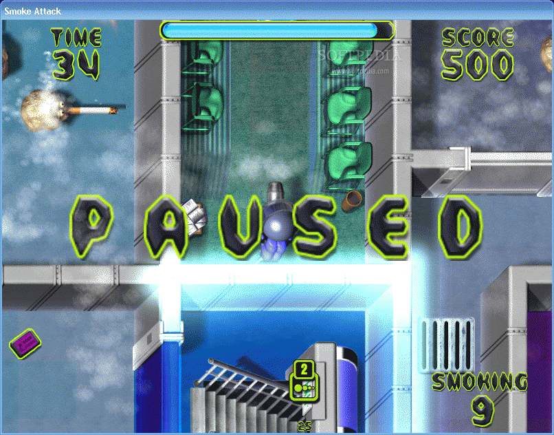 Скриншот к игре Smoke Attack