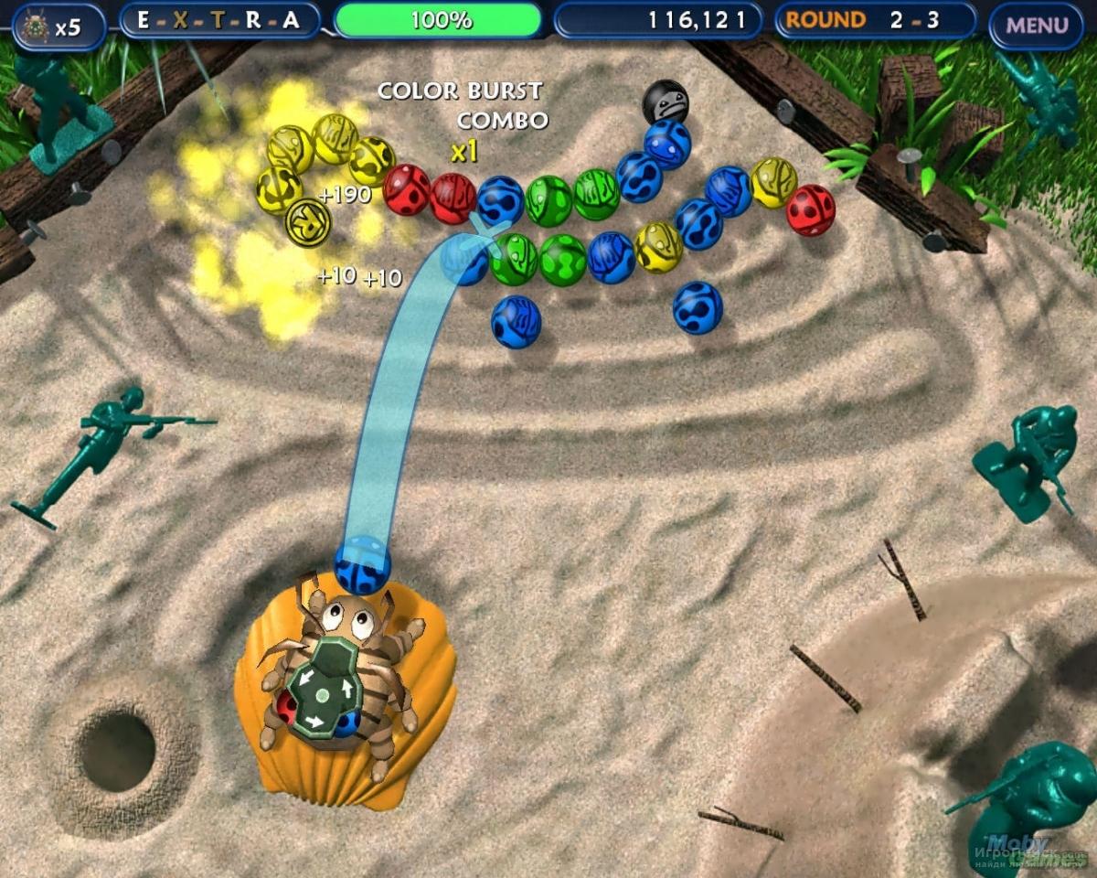 Скриншот к игре Tumblebugs