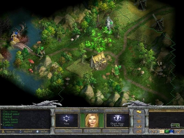 Скриншот к игре Age of Wonders: Shadow Magic