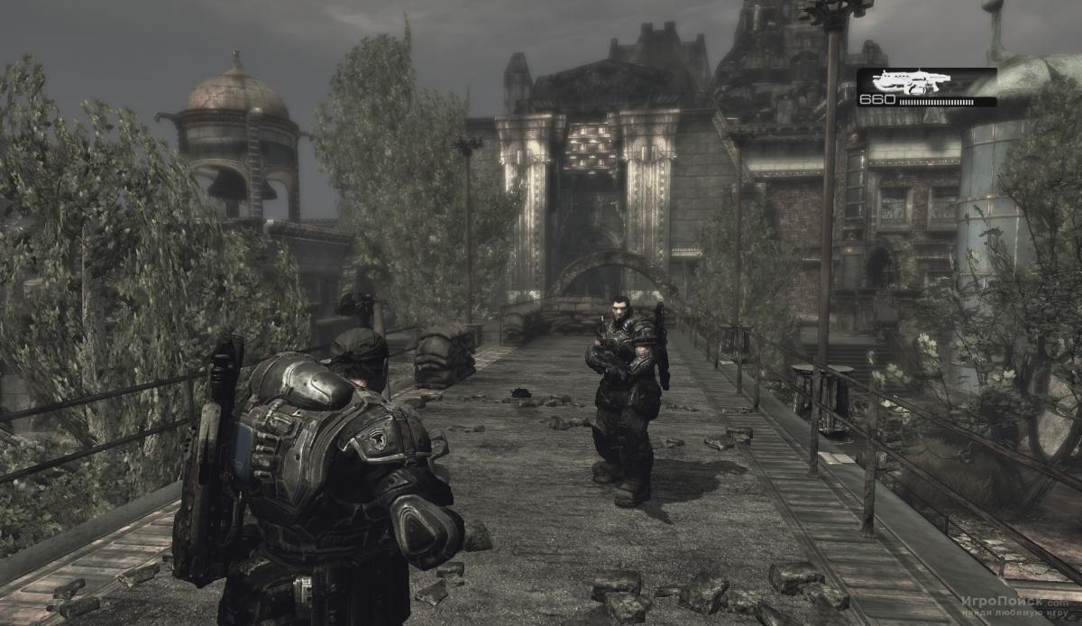 Скриншот к игре Gears of War