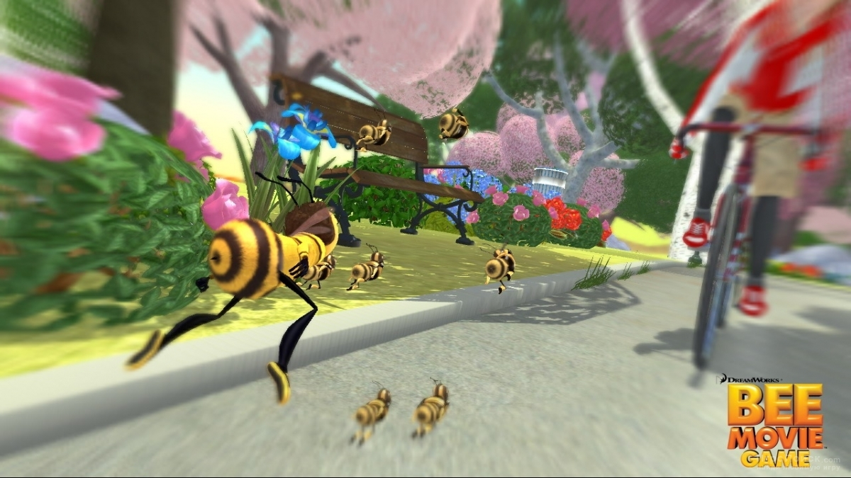 Скриншот к игре Bee Movie Game