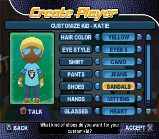 Скриншот к игре Backyard Football 2006