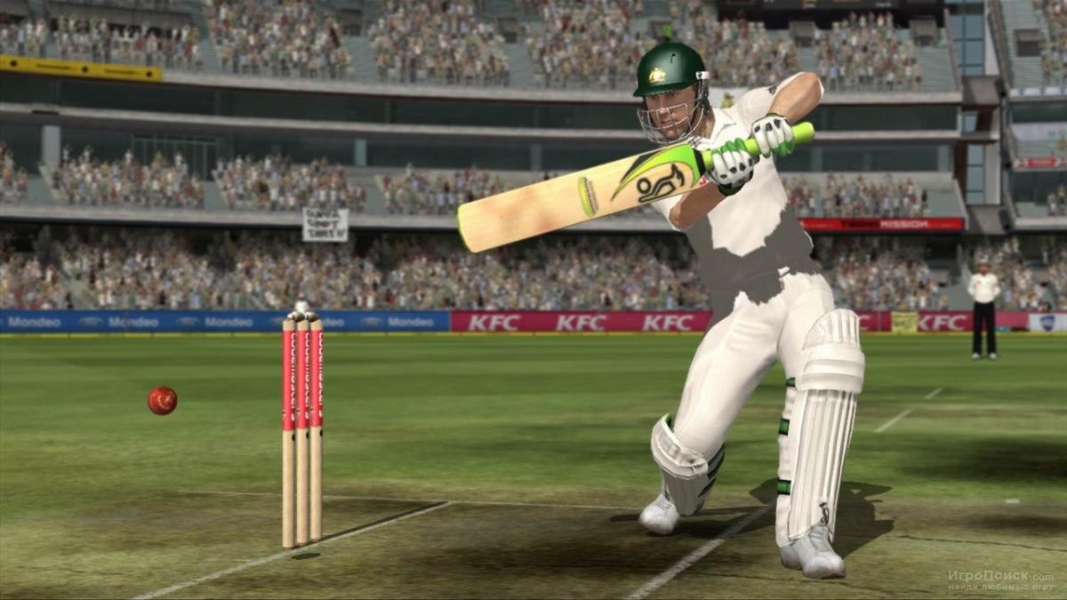Скриншот к игре Ashes Cricket 2009
