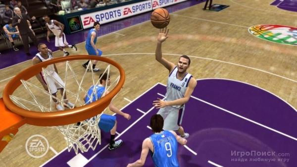 Скриншот к игре NBA Live 08