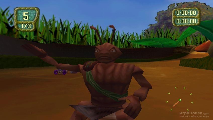 Скриншот к игре Antz Extreme Racing