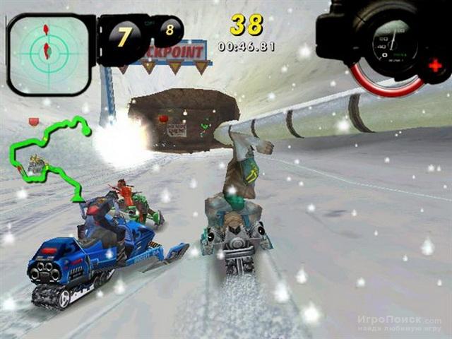 Скриншот к игре Arctic Thunder