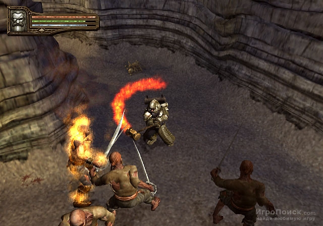Скриншот к игре Baldur's Gate: Dark Alliance