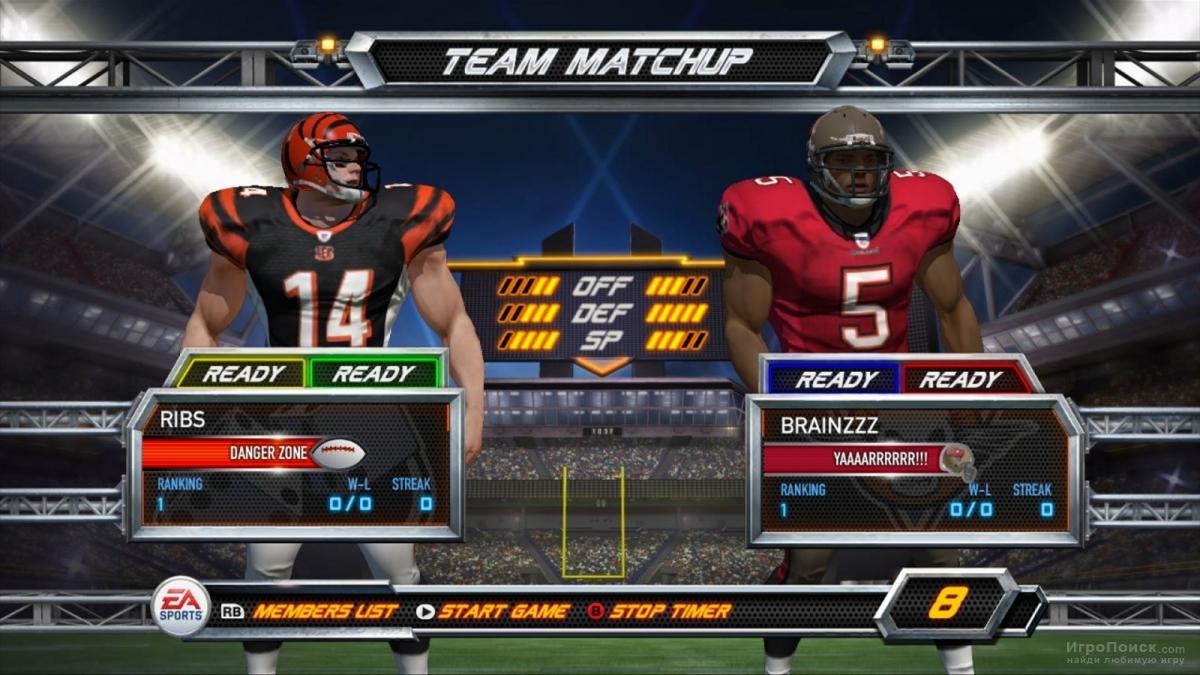 Скриншот к игре Blitz: The League