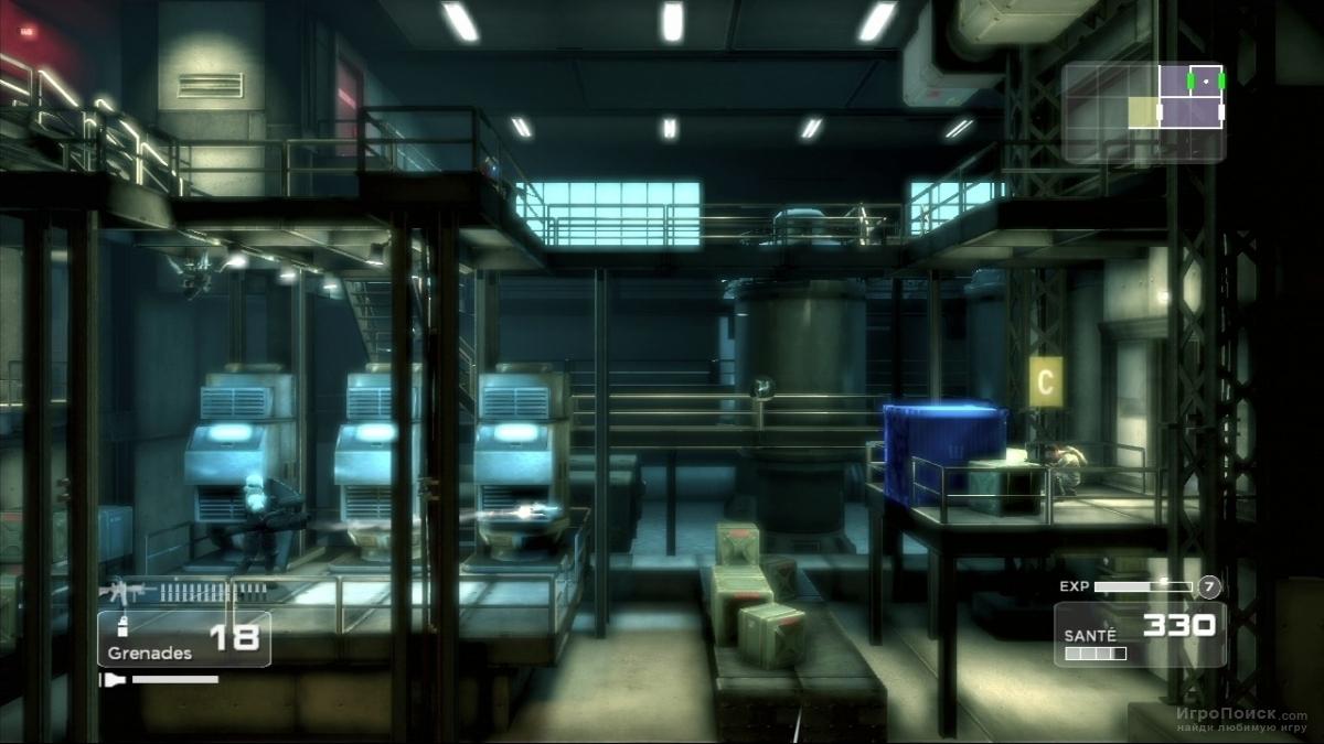Скриншот к игре Shadow Complex