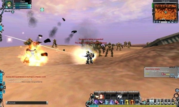 Скриншот к игре Project of Planets