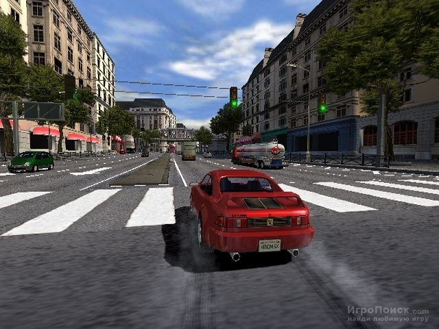 Скриншот к игре Burnout 2: Point of Impact