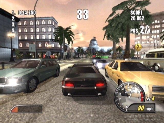 Скриншот к игре Burnout 2: Point of Impact