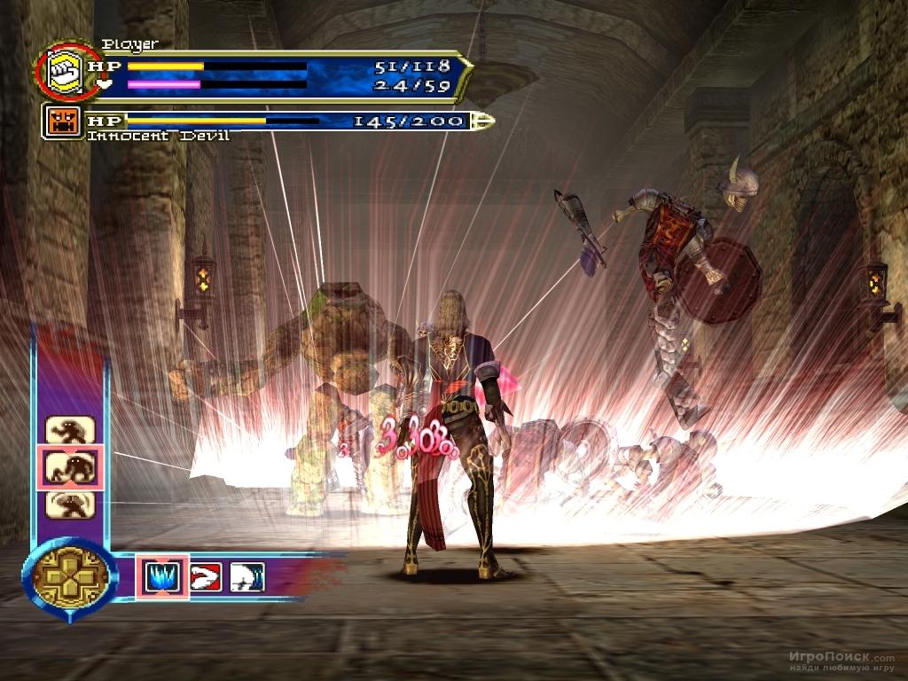 Скриншот к игре Castlevania: Curse of Darkness