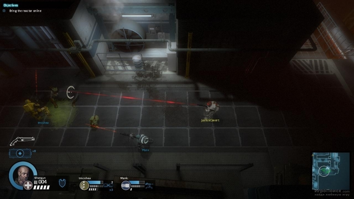 Скриншот к игре Alien Swarm