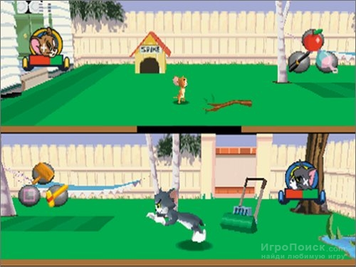 Скриншот к игре Tom and Jerry in House Trap