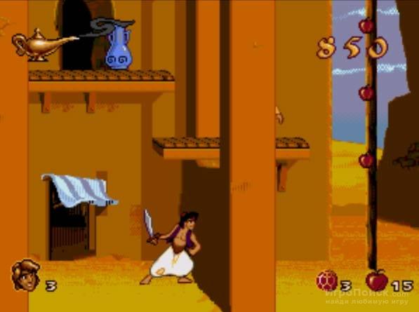 Скриншот к игре Disney's Aladdin