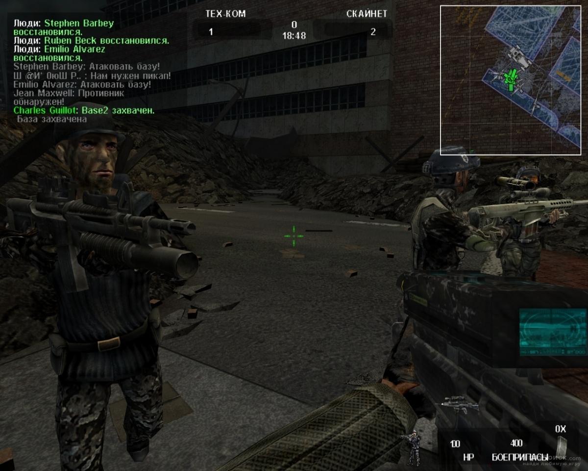 Скриншот к игре Terminator 3: War of the Machines