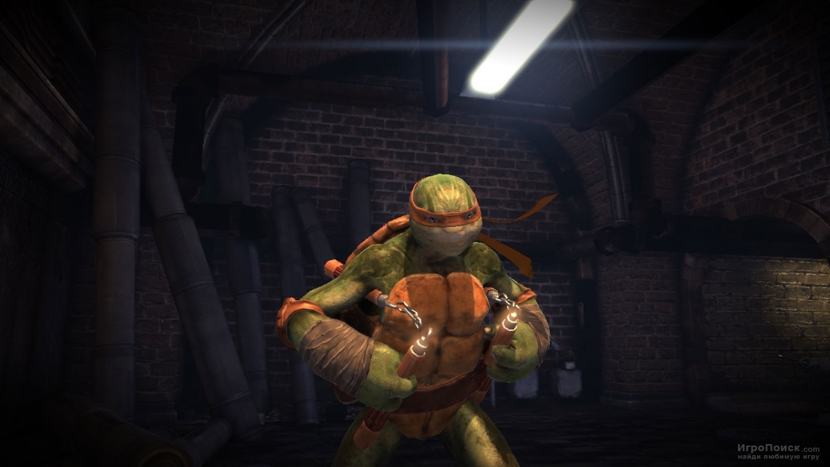 Скриншот к игре Teenage Mutant Ninja Turtles: Out of the Shadows