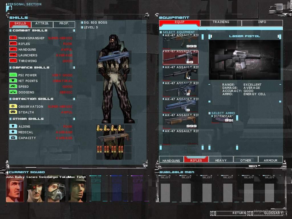 Скриншот к игре UFO: Aftermath