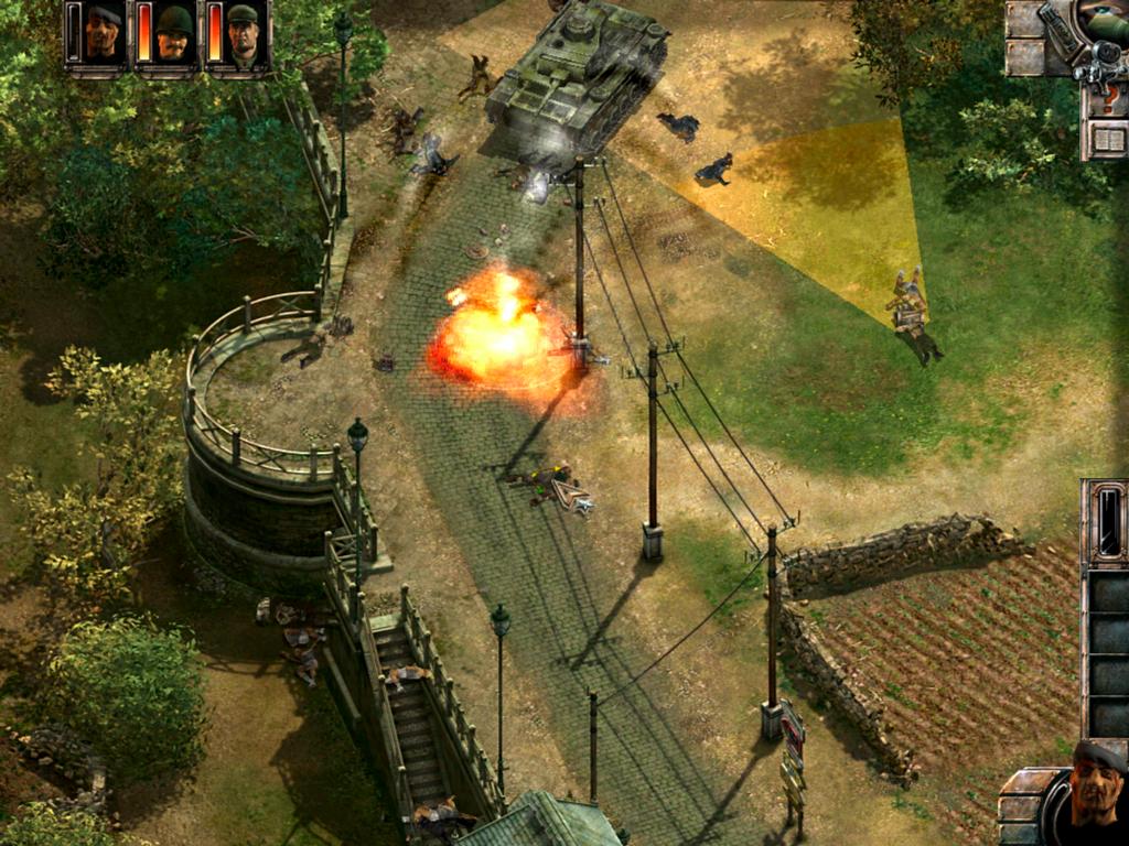 Скриншот к игре Commandos 2: Men of Courage