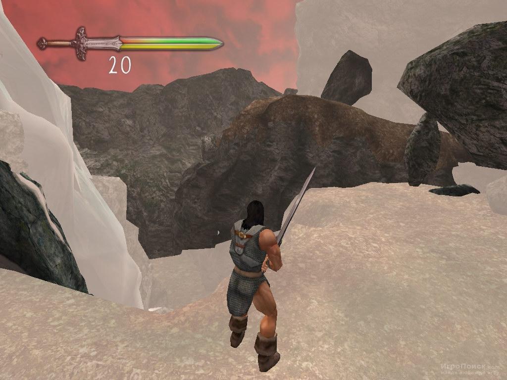 Скриншот к игре Conan