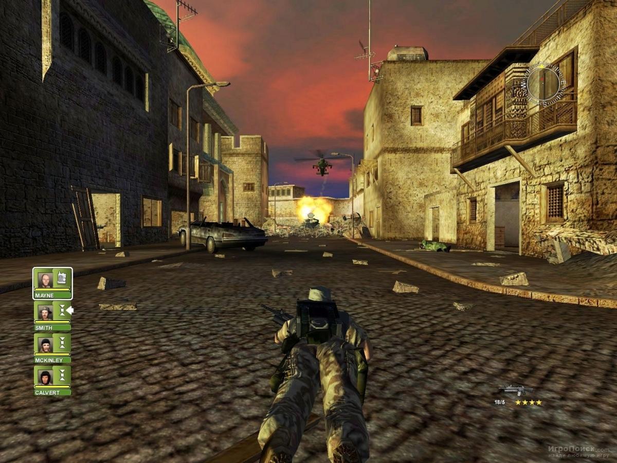 Скриншот к игре Conflict: Desert Storm 2