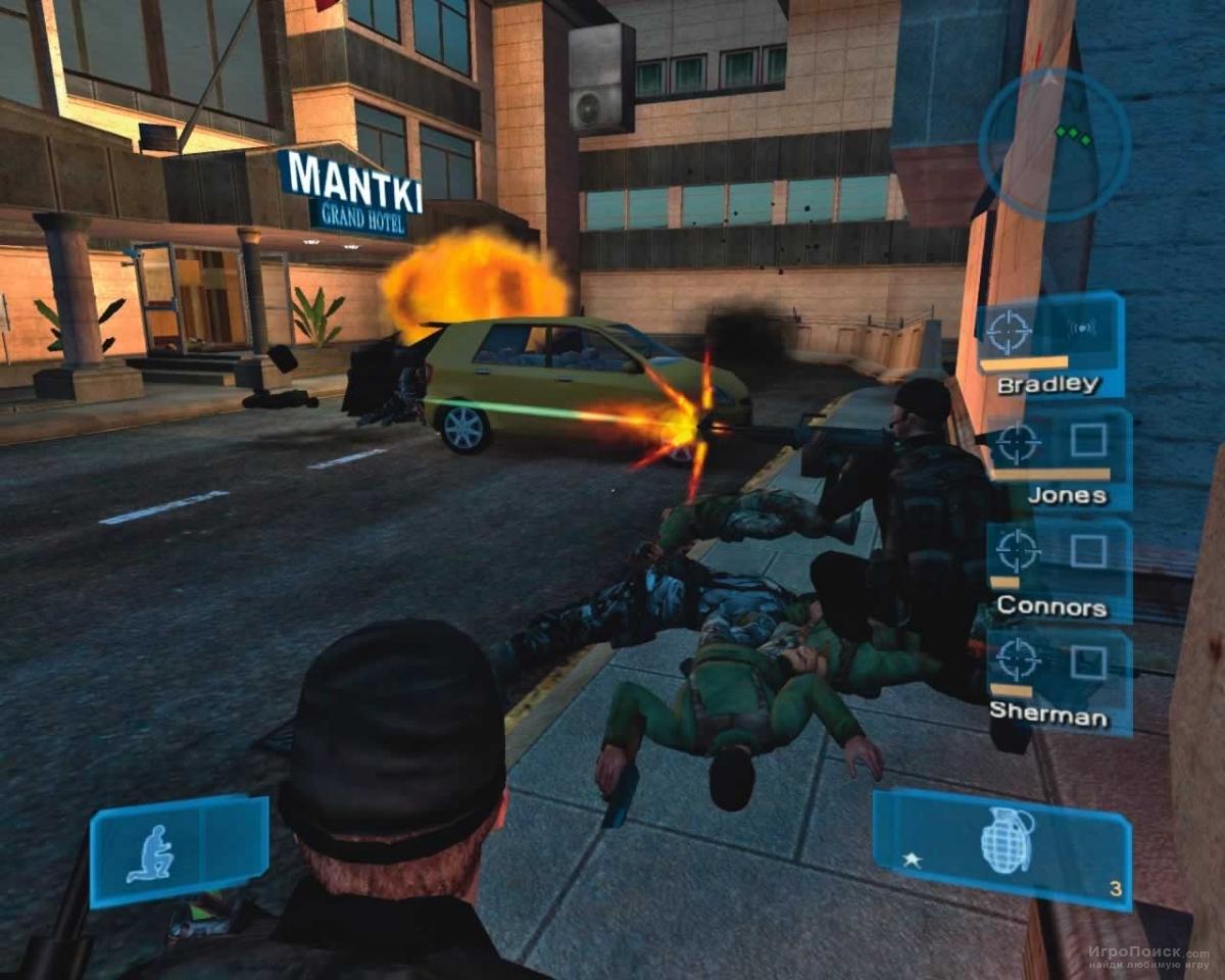 Скриншот к игре Conflict: Global Storm
