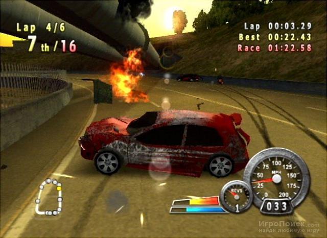 Скриншот к игре Crash 'N' Burn