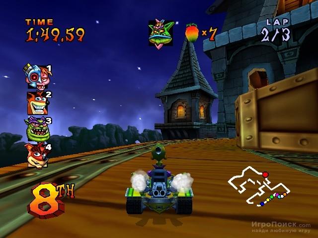 Арт изображения и скриншоты — crash nitro