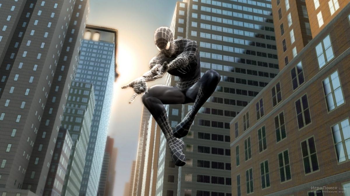 Скриншот к игре Spider-Man 3: The Game