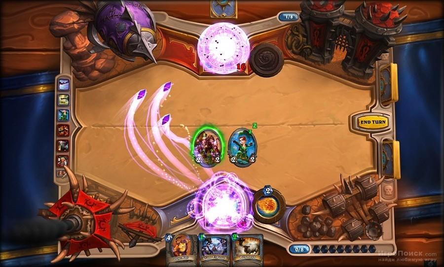 Скриншот к игре Hearthstone: Heroes of Warcraft