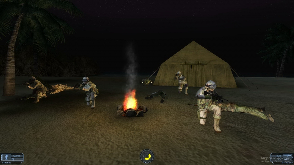 Скриншот к игре Tom Clancy's Ghost Recon: Desert Siege
