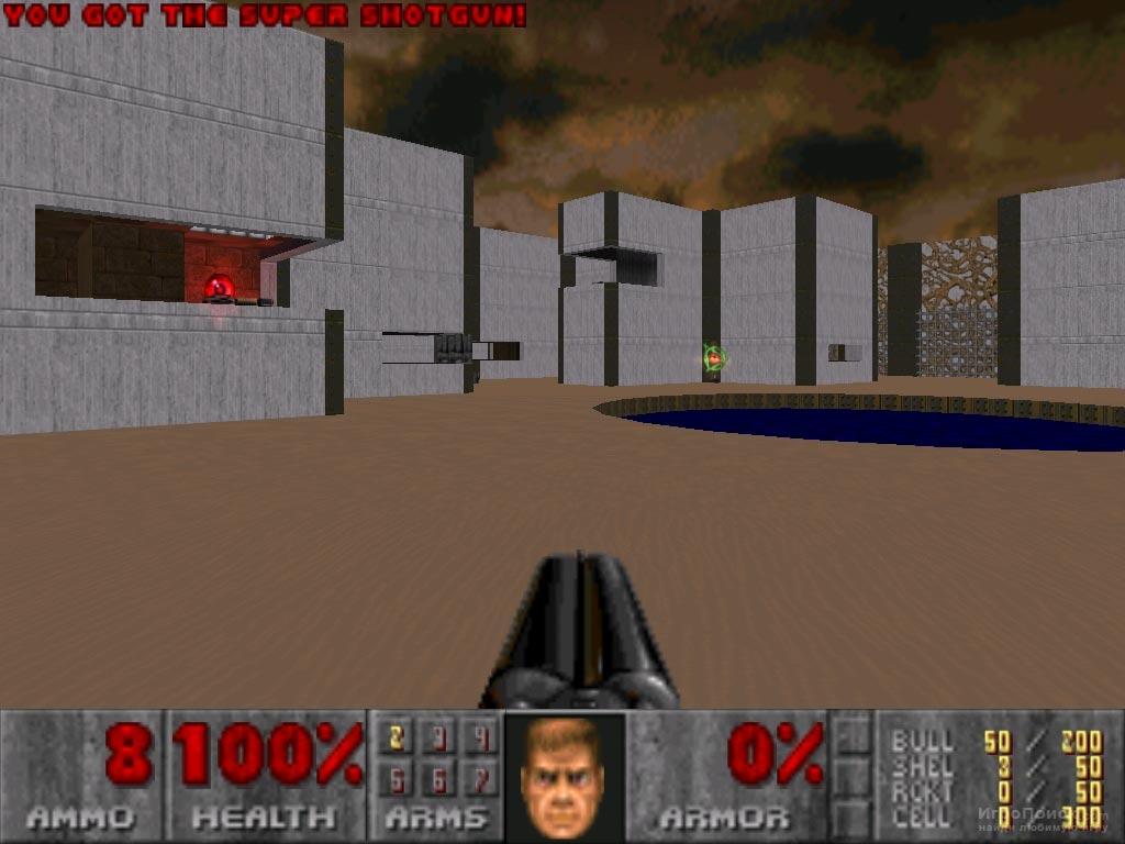 Скриншот к игре Doom II: Hell on Earth