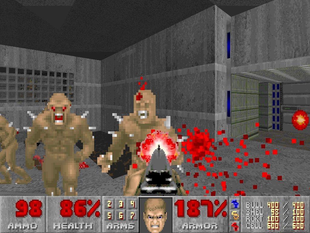 Скриншот к игре Doom 2