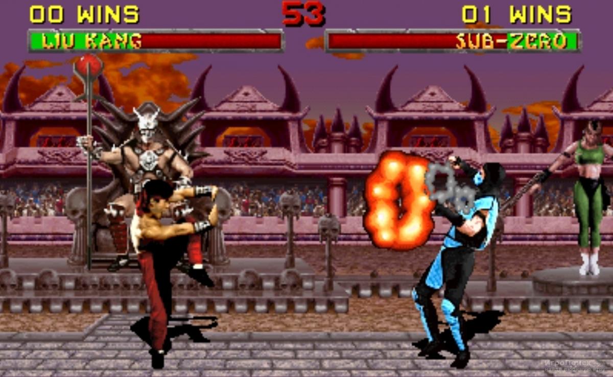 Скриншот к игре Mortal Kombat 3