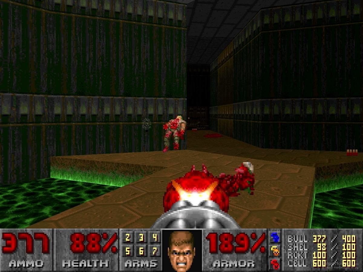 Скриншот к игре Doom Classic