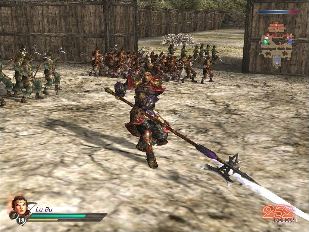 Скриншот к игре Dynasty Warriors 4