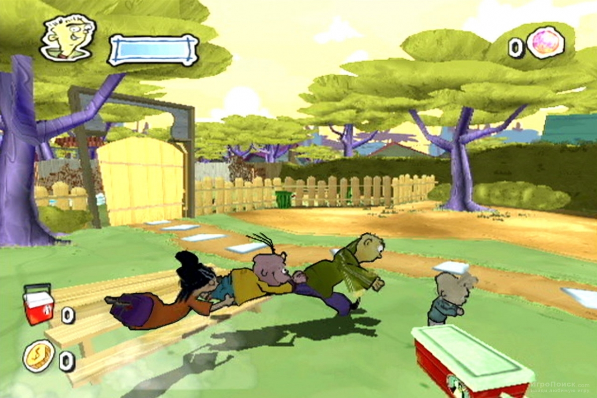 Скриншот к игре Ed, Edd n Eddy: The Mis-Edventures