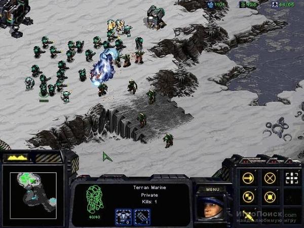 Скриншот к игре StarCraft: Brood War