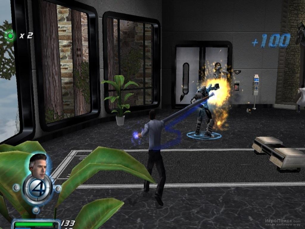 Скриншот к игре Fantastic Four