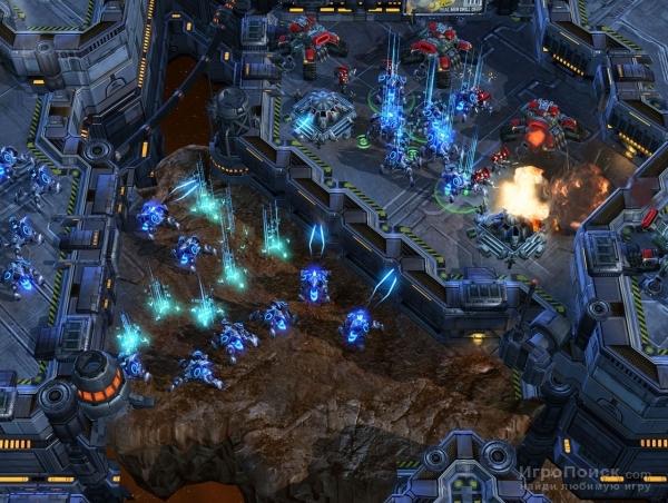 Скриншот к игре StarCraft II: Wings of Liberty