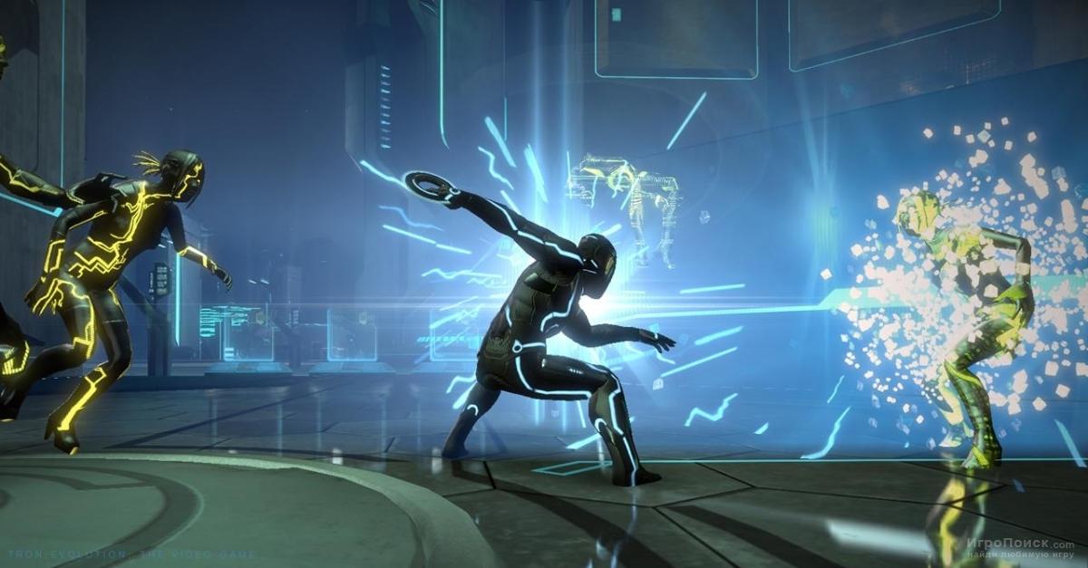 Скриншот к игре Tron: Evolution