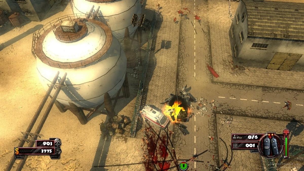 Скриншот к игре Zombie Driver