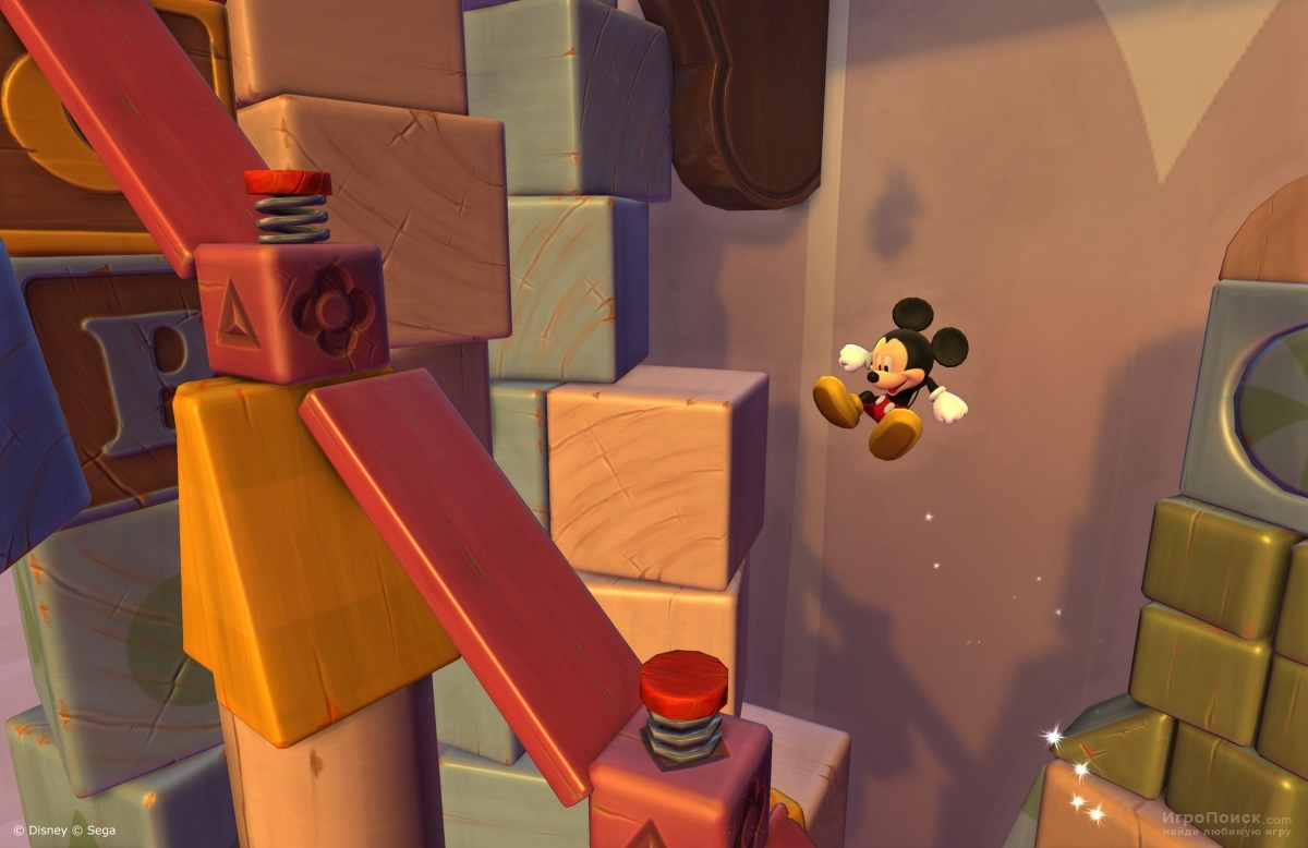 Скриншот к игре Castle of Illusion Starring Mickey Mouse Remake
