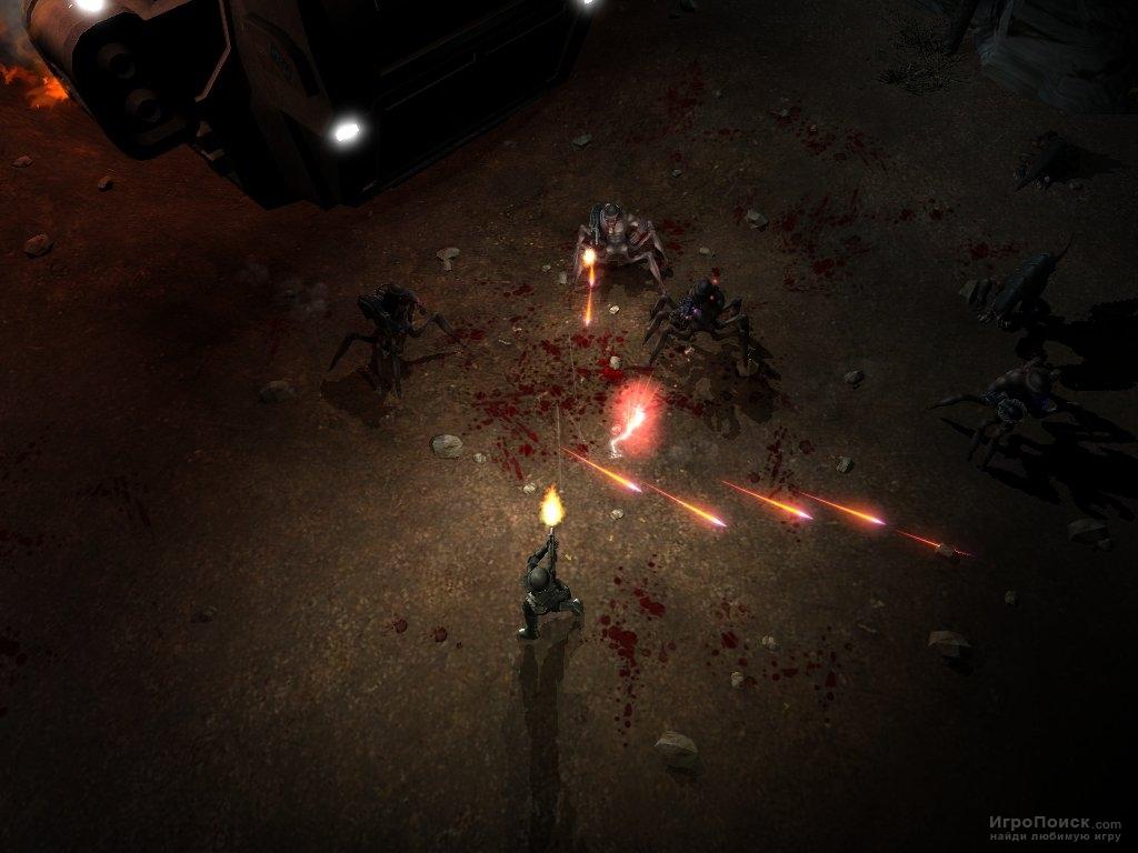 Скриншот к игре Shadowgrounds