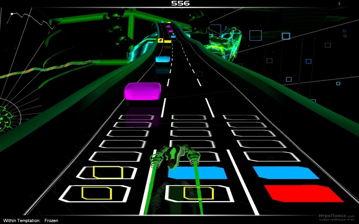 Скриншот к игре Audiosurf