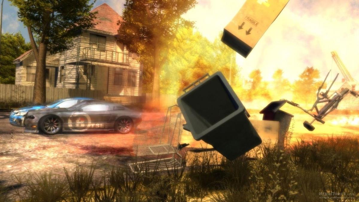 Скриншот к игре Flatout 3: Chaos  and Destruction