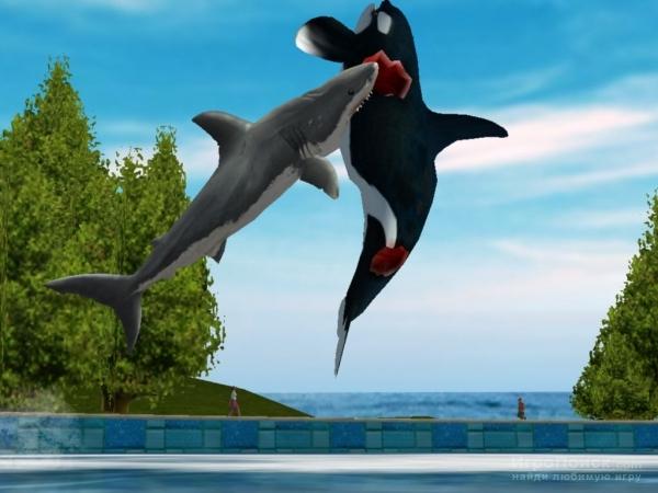 Скриншот к игре Jaws Unleashed
