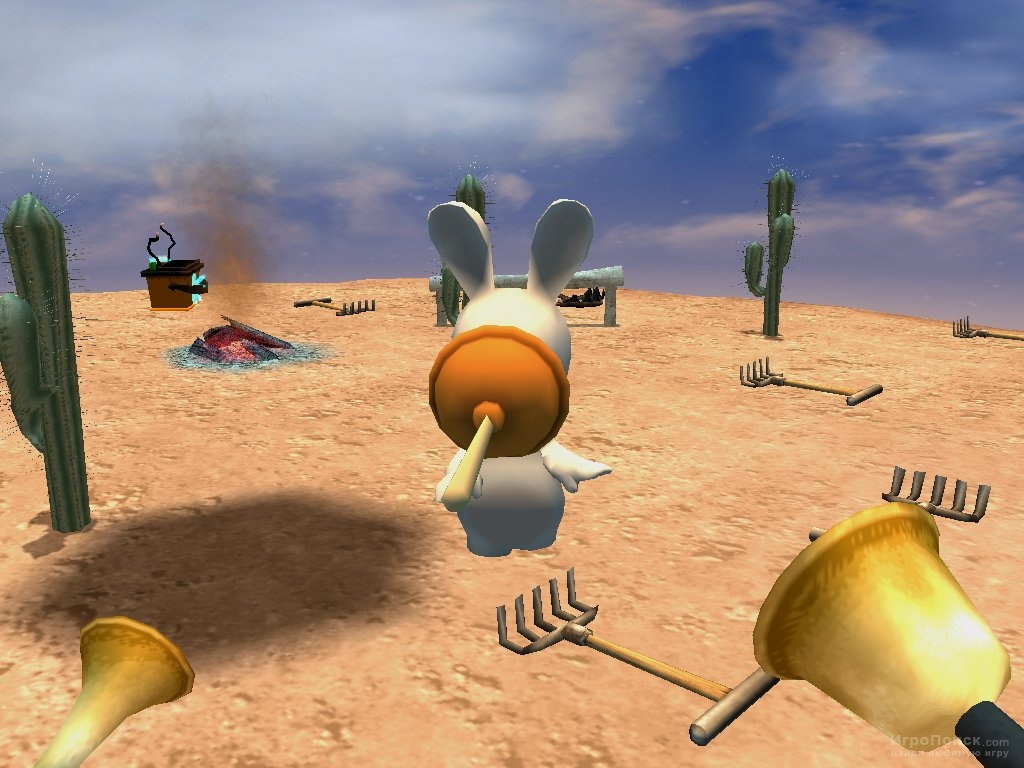 Скриншот к игре Rayman Raving Rabbids