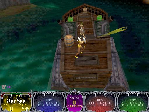 Скриншот к игре Gauntlet Dark Legacy